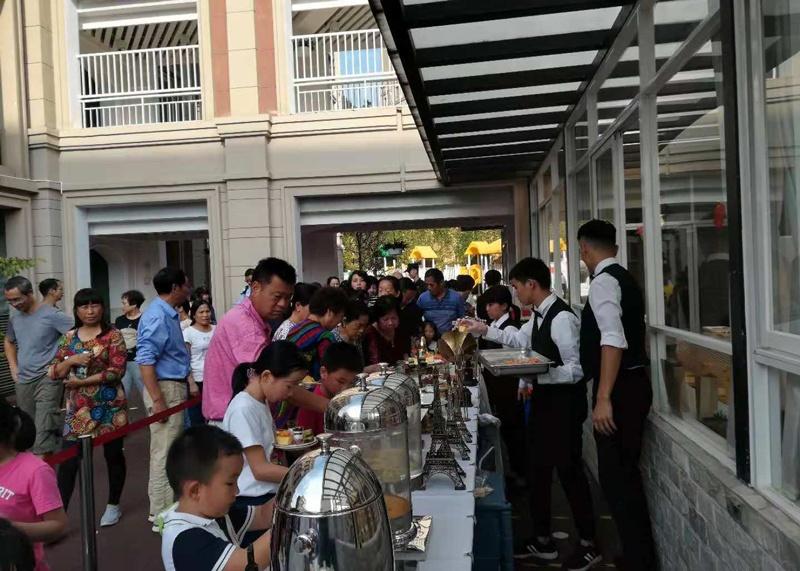 10月27号宝安区西乡中海物业9号公馆活动图片