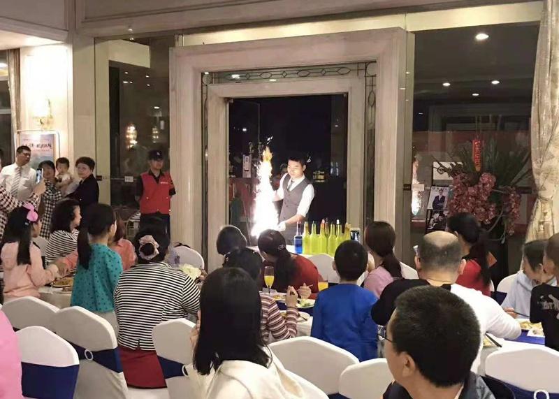 11月3号深圳市福田区香蜜湖1号欢乐家庭会自助餐晚宴活动图